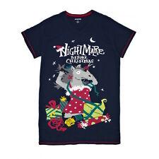 "Hatley ""Nightmare Before Christmas"" navy cotton horse sleepshirt 1 size"