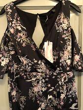 Lipsy Floral Maxi Dress Size 14