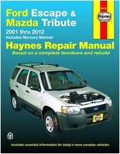 BRAND NEW !!  HAYNES REPAIR MANUAL # 36022 FORD ESCAPE AND MAZDA TRIBUTE '01-'12