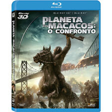 Blu-ray 3D Dawn of the Planet of the Apes [ English + Spanish + Portuguese ]