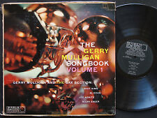 GERRY MULLIGAN Songbook Vol.1 LP WORLD PACIFIC PJ-1237 MONO Zoot Sims Lee Konitz