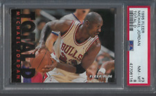 1995 Fleer Total D #3 Michael Jordan PSA 8