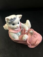 """Enesco Calico Kittens """"We're Partners in the Dance of Life"""" 314471S Ballet Nib."""