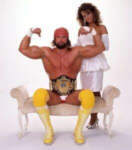 WWE MACHO MAN RANDY SAVAGE ELIZABETH POSTER 11X14 WWF WRESTLING