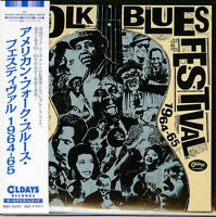 V.A.-AMERICAN FOLK BLUES FESTIVAL 1964-65-JAPAN 2 MINI LP CD C94