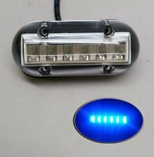 PactradeMarine Ocean Bright Underwater Blue Accent Light Surface Mount 6 LED 12V