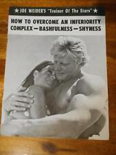 "JOE WEIDER ""How to Overcome Inferiority Complex"" muscle booklet DAVE DRAPER"