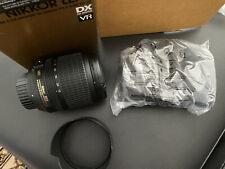 Nikon Nikkor 18-105mm F/3.5-5.6 AF-S DX VR IF ED Lens