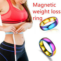 Multicolor Weight Loss Ring Slimming Healthy Stimulatings Rings Magnetic FZ NTAT