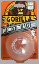 GORILLA GLUE 1.52M HEAVY DUTY DOUBLE SIDED WATERPROOF CLEAR MOUNTING TAPE RDG