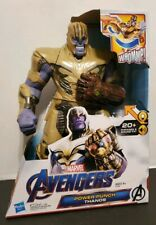"Avengers EndGame Power Punch Thanos Action Figure 2019 - 14"" New"