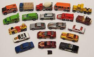 Vintage Original Mattel Hot Wheels Blackwall lot of 20 Cars & Trucks