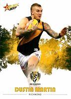 ✺New✺ 2017 RICHMOND TIGERS AFL Premiers Card DUSTIN MARTIN