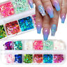 Nail Glitter Sequins Butterfly Mixed Colorful Slices 3D Nail Art Decoration DIY