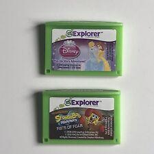 LeapFrog Game Bundle 4 - 9 Years LeapPad 1 2 3 Platinum XDI Explorer Leapster GS