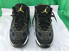 Nike Air Jordan XI 11 Retro Low Black/Zest-White 2007 306008-002 Men's SZ 12