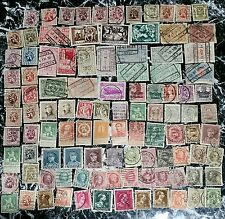 Belgium 1800's-1900's Stamps Collection . Used- hinged. Rare lot