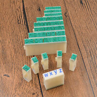 1 Set A-Z Alphabet Letters DIY Stamp Movable Seals for Stamping Embossing Craft