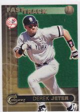 DEREK JETER 1997 Circa Fast Track INSERT BASEBALL CARD New York Yankees LE