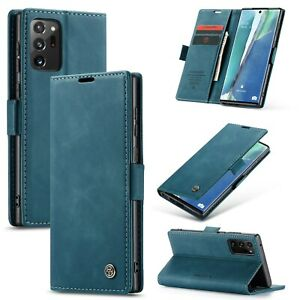 for Samsung Galaxy Note 20 Ultra Note 20 S20 ultra S10 A51 Vintage Wallet Case