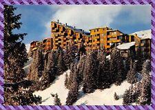 Postkarte - AVORIAZ Gebäude weiße Zeder
