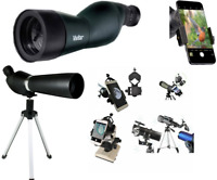 HD 4K 36X TELESCOPE SPOTTING SCOPE + TRIPOD + PHONE MOUNT TERRESTRIAL CELESTIAL