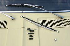 BMW E9 E 9 2,5 2800 3,0 CS CSI CSL Wiper Blades silver NEW !!!