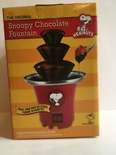 Peanuts Snoopy Chocolate Fountain Fondue, The Original Model by Schulz TM!