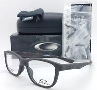 NEW Oakley Cross Step RX Eyeglasses Frame Matte Woodgrain OX8106-0350 AUTHENTIC