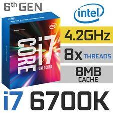 CPU i7-6700k Skylake Socket lga1151 gestori for desktop & Clevo Notebook