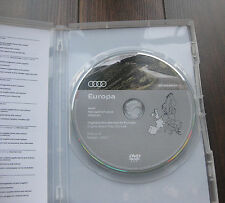 Audi Navigation Plus RNS-E DVD version 2017 France Espagne RNSE Original Neuf