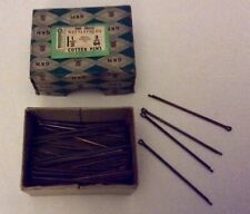 "Box Of Imperial Cotter Pins 1 1/2"" X 3/64 1 Gross/model Making/Made In Britain"
