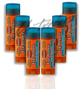 OKeeffes Cooling Lip Repair Balm 4.2g Relief For Cracked Split & Dry Lips x 6
