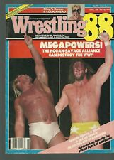 WRESTLING 88 MAGAZINE HULK HOGAN/RANDY SAVAGE SPRING 1988