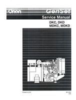 ONAN GenSet DKC DKD MDKC MDKD Generator Service Manual