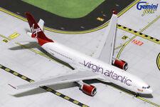 GEMINI JETS VIRGIN ATLANTIC AIRBUS A330-200 1:400 DIE-CAST  GJVIR1763 IN STOCK