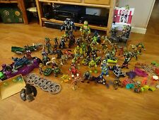 Huge Lot of TMNT Teenage Mutant Ninja Turtles Action Figures w/ Accessories +++