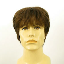 Perruque homme 100% cheveux naturel châtain clair ref ERIC 8