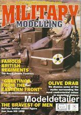 Military Modelling Mar.02 Dublin Fusiliers StuG Buffalo Soldier Olive Drab Tank