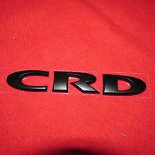 Jeep Wrangler 2013-2014 Black Jeep CRD emblem nameplate decal Mopar OEM JEEP