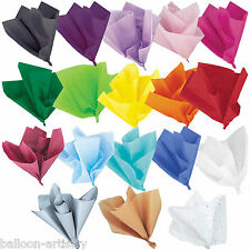 Tissue Paper Colours Arts Crafts Gift Wrap Wrapping Party Supplies Listing