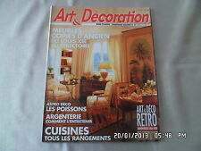 ART ET DECORATION N°308 3/1992 MEUBLES COPIES D'ANCIEN RETRO ANNEES 20-30   D56