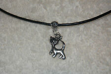 Cat Siamese Kitten Charm Necklace - Zeta Phi Beta or Kappa Alpha Theta