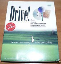 Drive! - green grass software 1997 (golf Information)