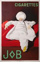 CAPPIELLO LEONETTO JOB PAPER  DOUBLE SHEET -  VERY RARE ON THIS  BIG SIZE  1921