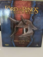 New listing Helm of a Battle Troll 665/2500 - Lord of the Rings -Sideshow Weta