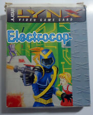 Electrocop - flat cartridge - boxed manual - Atari Lynx - 1989 - PA2021