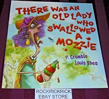 THERE WAS AN OLD LADY WHO SWALLOWED A MOZZIE PAPERBACK BOOK (2017) BRAND NEW