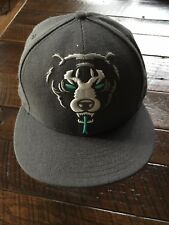 MNWKA Mishka BLACK Death ADDER Hat CAP Fitted 59Fifty NEW ERA Wool 7 1/2 Bear DA