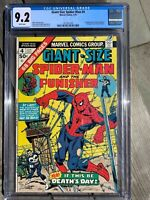 Giant-Size Spider-Man #4 - CGC 9.2  3rd Punisher NM- Giant Size are hot!